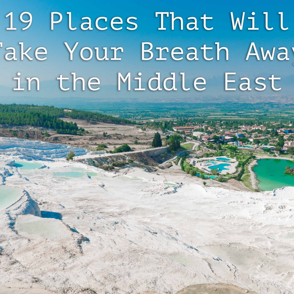 19 best places middle east