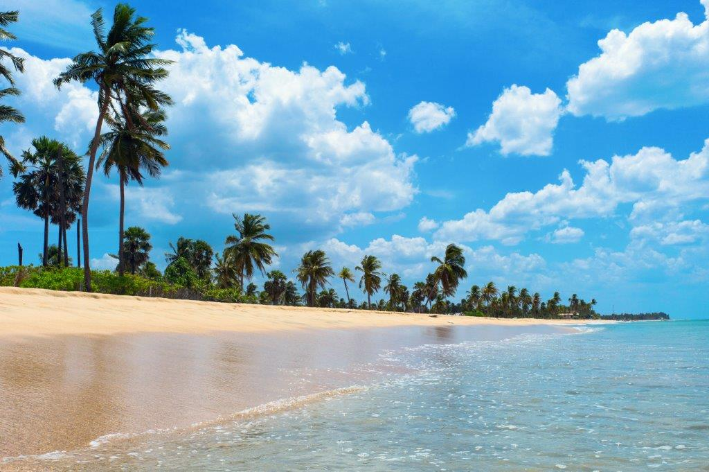 East Coast Beach Trincomalee Sri Lanka holiday