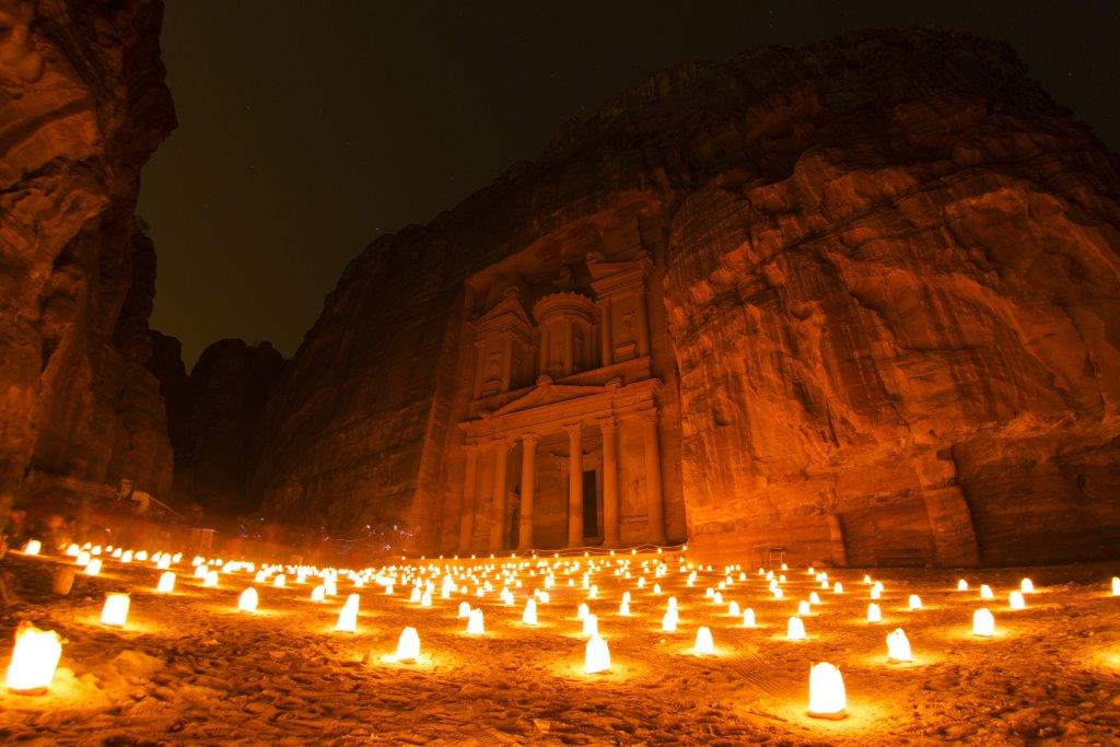 Petra by Candlelight - best things to do in Jordan