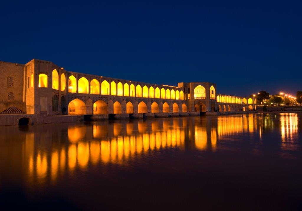 khaju bridge isfahan   tailor made holiday iran