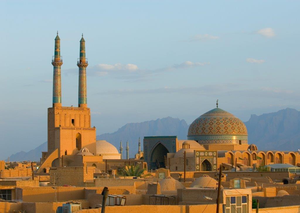 masjid-e-jame in Yazd   tailor made holiday iran