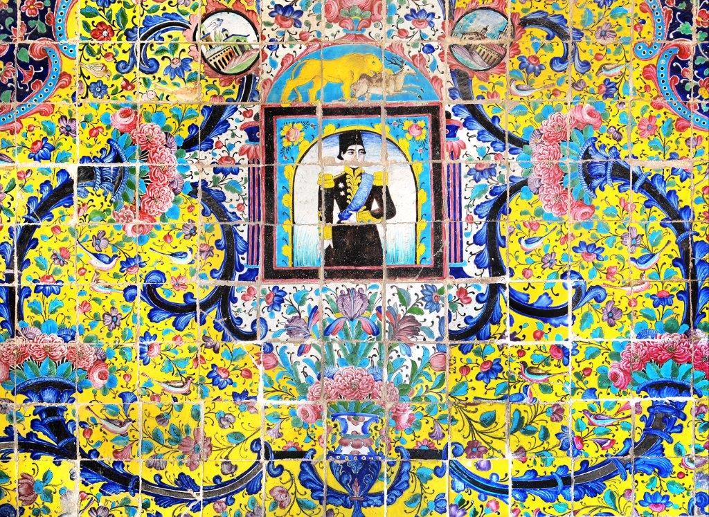 qajar tilework gulistan palace tehran   tailor made holiday iran