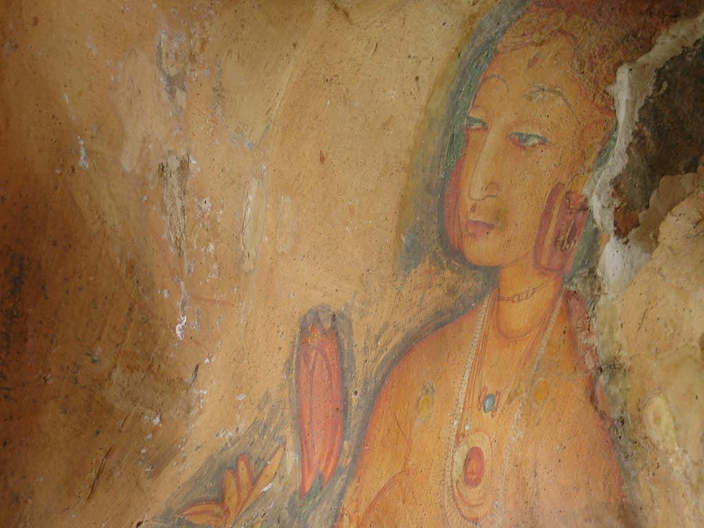 Painting at Sigirya Rock