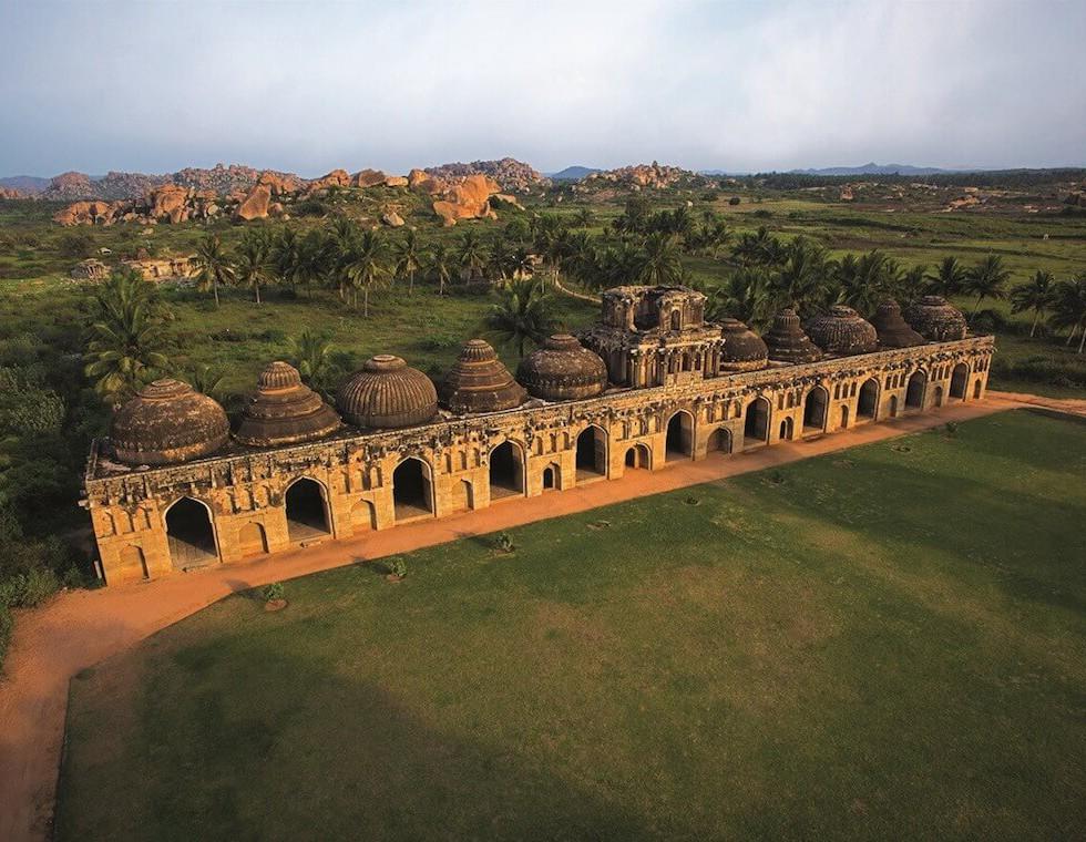 Elephant Stables, Hampi - Luxury Holiday to India
