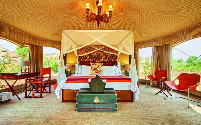 Kishkinda Luxury Camp Hampi India