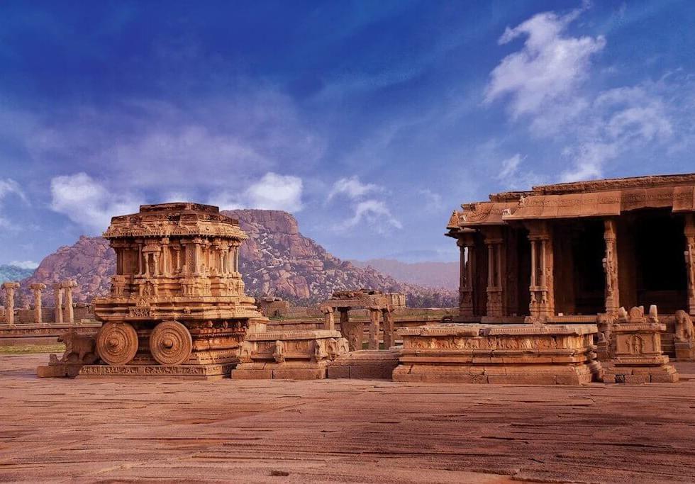 Stone Chariot Hampi - - Luxury Holiday to India
