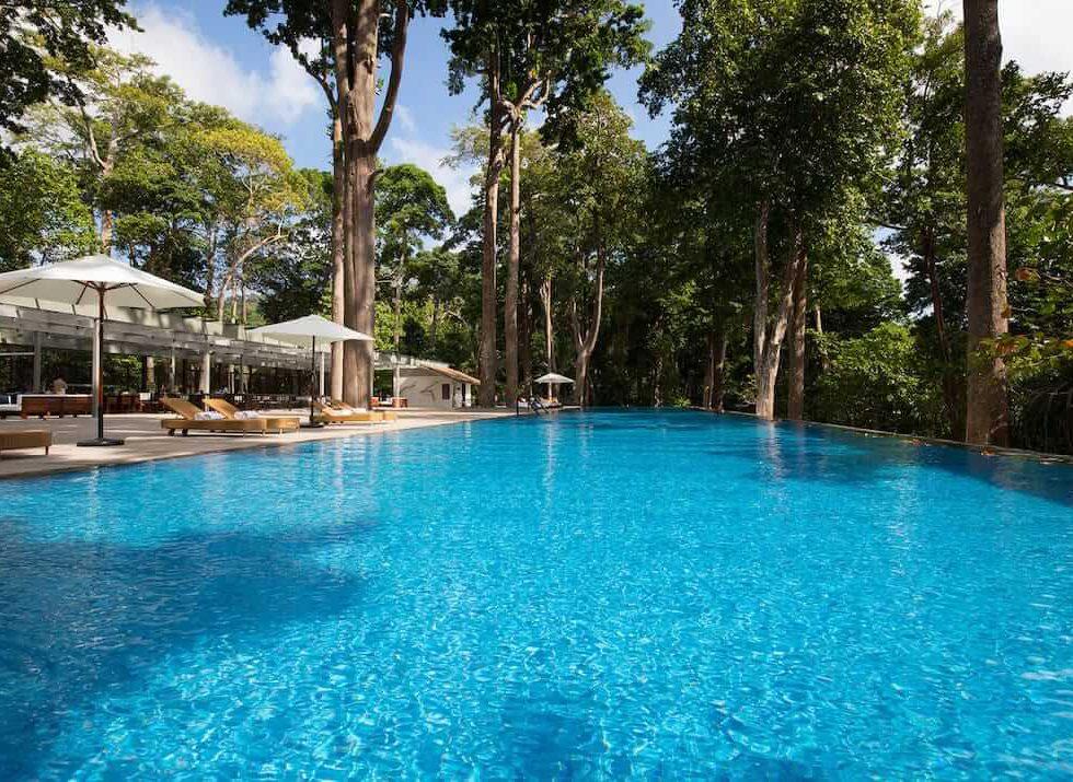 TAJ EXOTICA HOTEL HAVELOCK ISLAND ANDAMANS INDIA