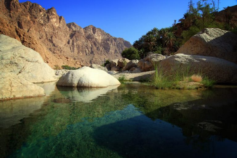 Wadi Tiwi | Family Holiday to Oman