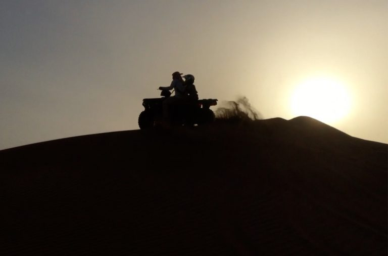Wahiba Sands quad biking | Family Holiday to Oman