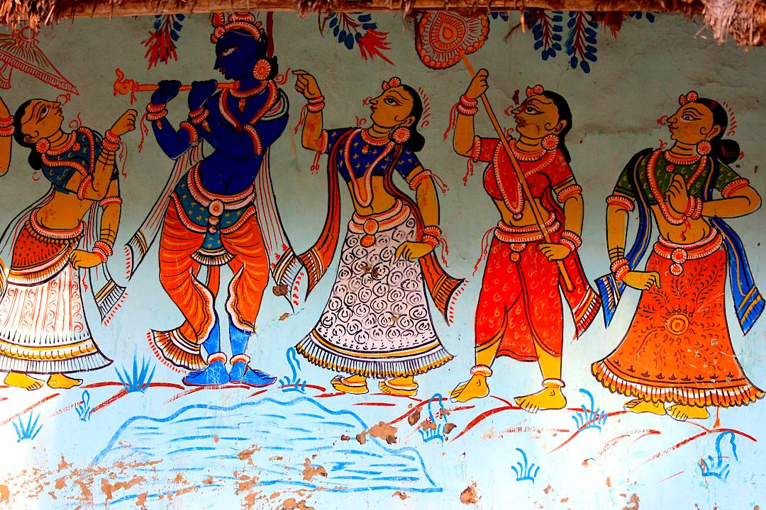 Raghurajpur painting village in Orissa - What to see on a holiday to Odisha, one of India's lesser-visited states