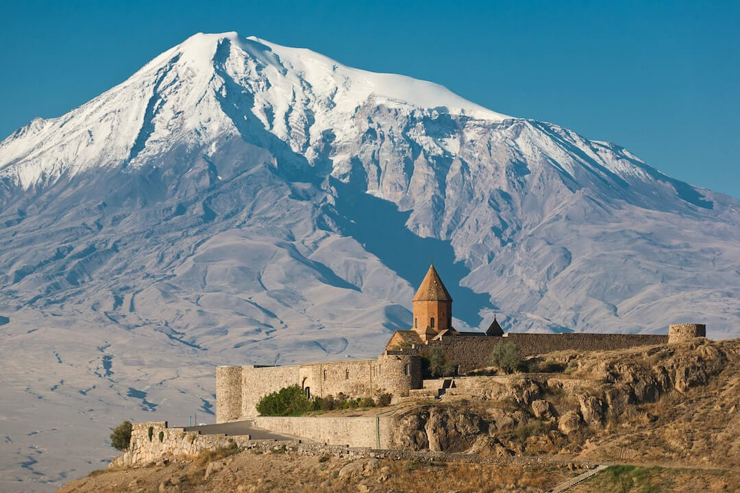 Khor Virap and Mount Ararat - One of the best places to visit in Armenia
