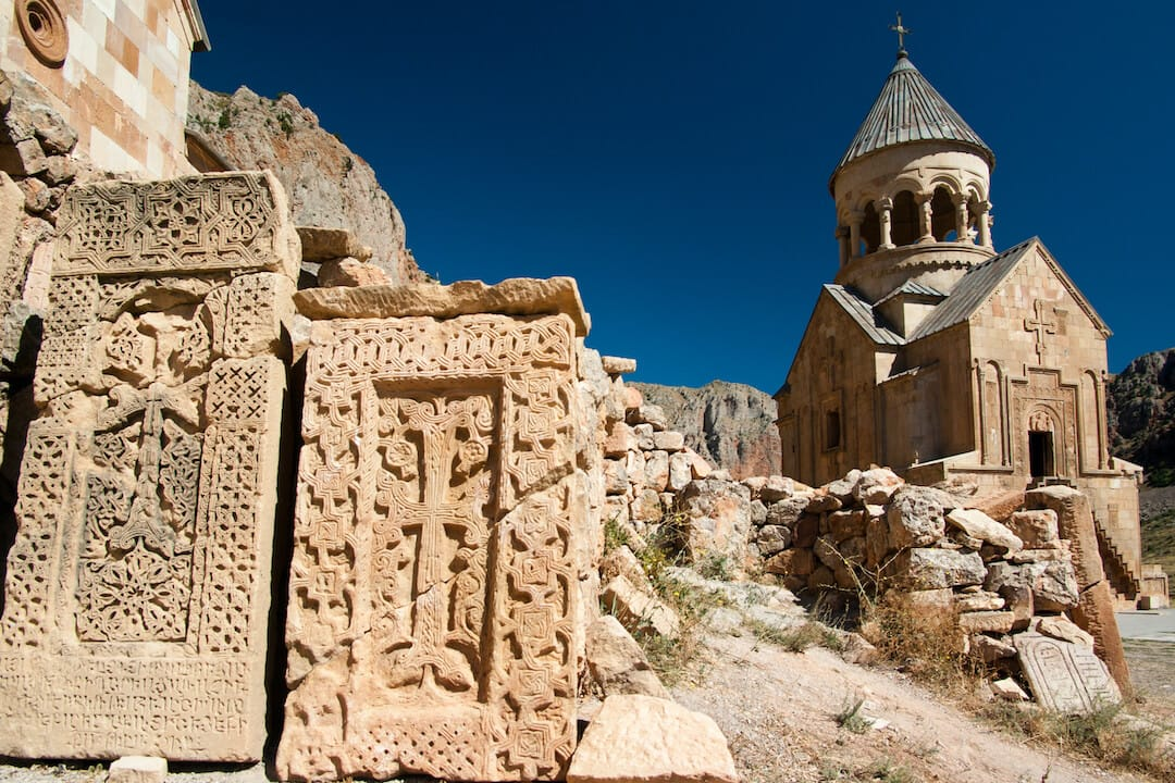 Noravank monastery near Yeghegnadzor - One of the best places to visit in Armenia