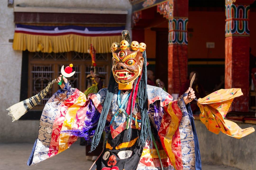 Visit Hemis festival in Ladakh