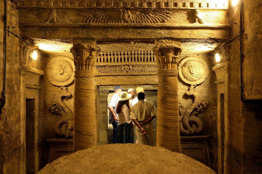 Alexandria Catacombs c.ETA