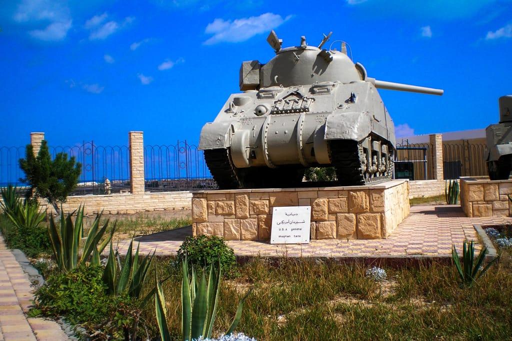 Alexandria. El Alamein museum, Egypt dreamstime_l_13522614