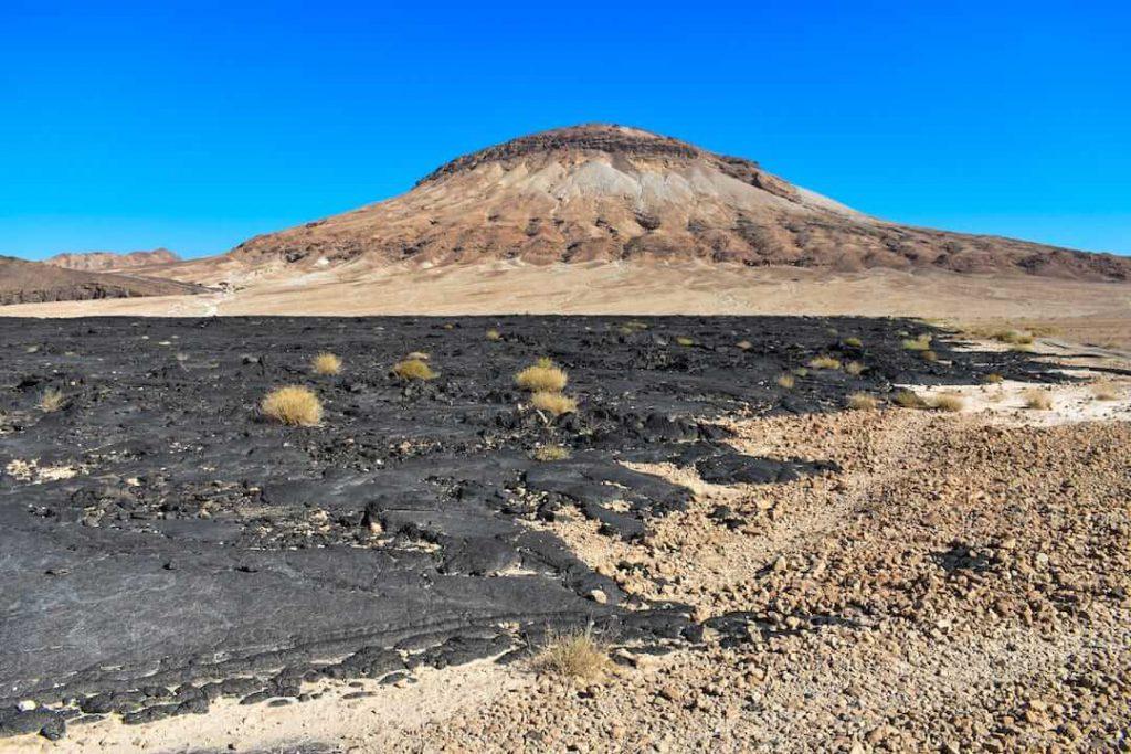 Jabal Abyiad (the 'Jelly Fish' volcano)