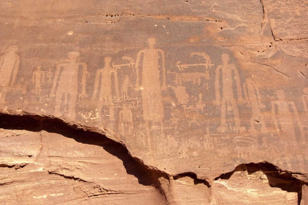 Al Ula rock paintings, Saudi Arabia _ What to do in Al Ula; the world's largest living museum