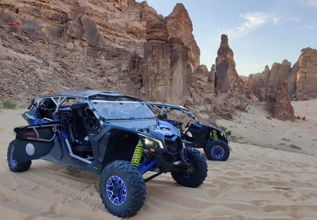 Dune Buggy safari at Al Ula
