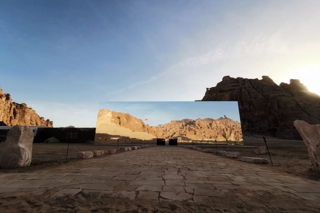 Maraya Concert Hall, one of the best places to visit in Al Ula in Saudi Arabia