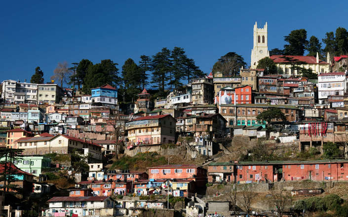 Visit Shimla on a tailor-made holiday to north India