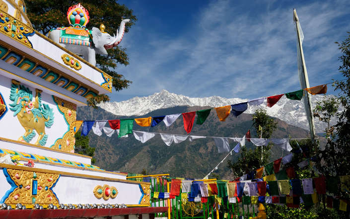 Visit McLeod Ganj  on a tailor-made holiday to north India