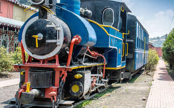 Include a ride on the toy train near Darjeeling on a tailor-made holiday to North East India