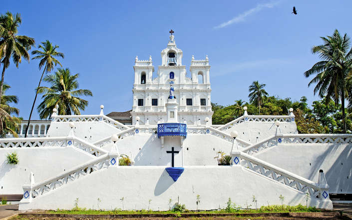 Visit the churches of Old Goa during a tailor-made holiday to India