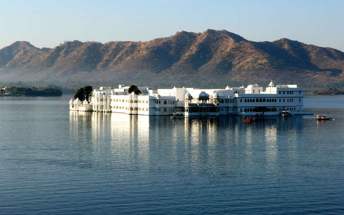 Stay at the Lake Palace Hotel in Udaipur on a tailor-made holiday to north India
