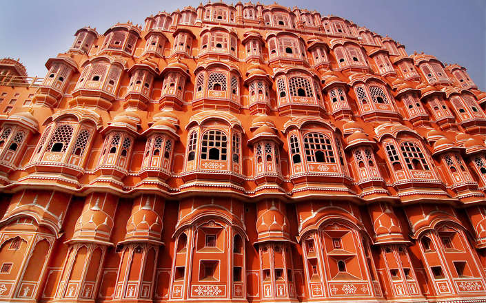 Visit the Palace of the Wind in Jaipur on a tailor-made holiday to north India