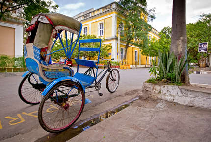 Explore Pondicherry on a tailor made holiday to Tamil Nadu in South India