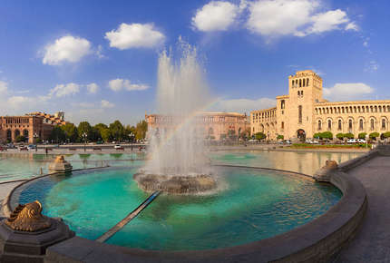 Visit Yerevan on a tailor-made luxury holiday to Armenia