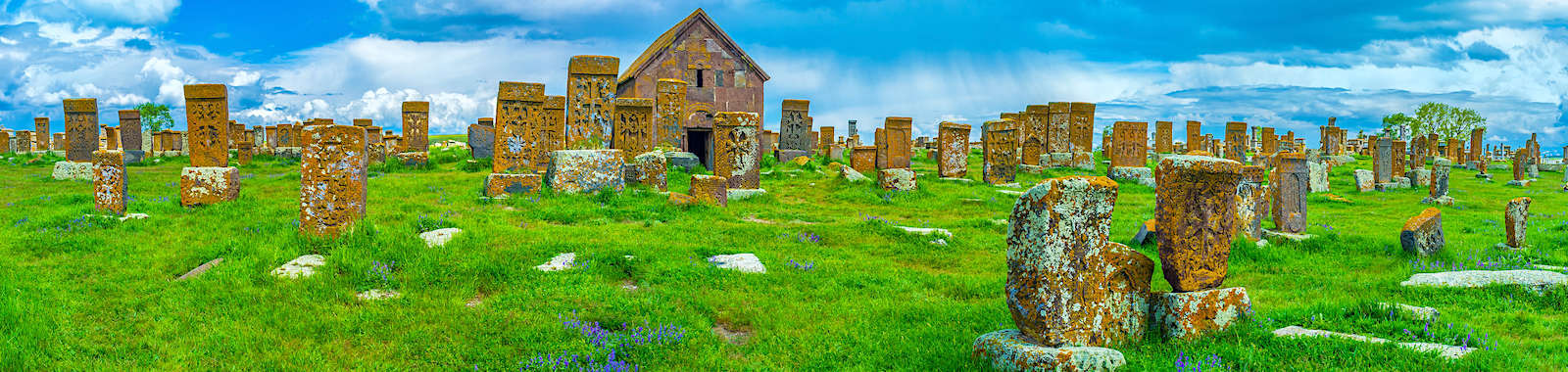 See the khachkars at Noratus Cemetery on a luxury private holiday to Armenia