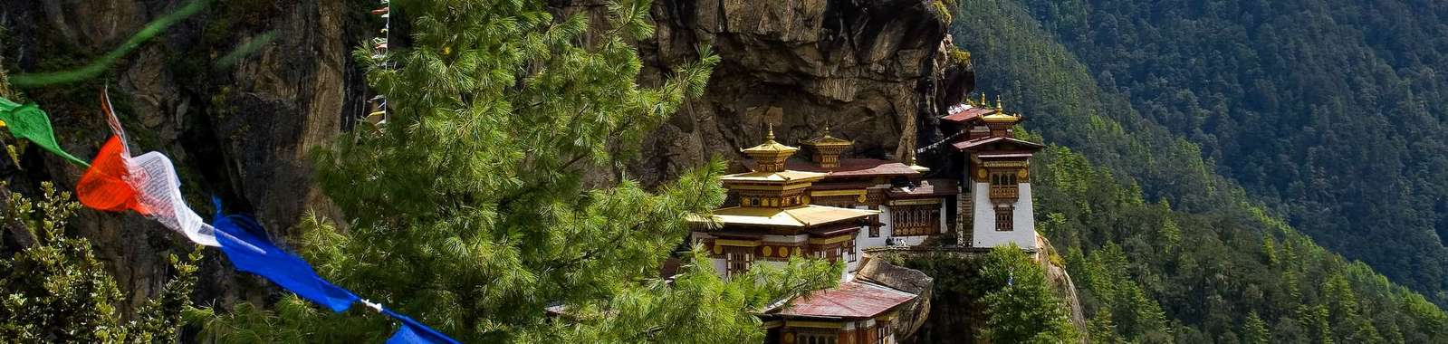 Hike up to Tiger's Nest monastery on a tailor-made holiday to Bhutan