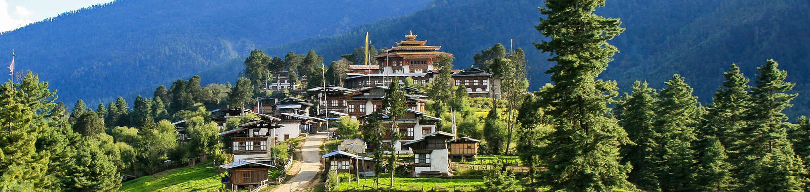 Visit Gangtey on a tailor-made holiday to Bhutan