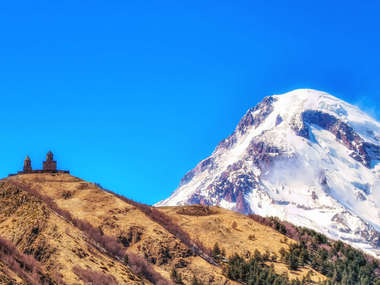 See Mt Kazbek on a luxury tailor-made holiday to Georgia