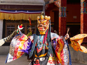 See Hemis festival on a tailor-made holiday to Ladakh