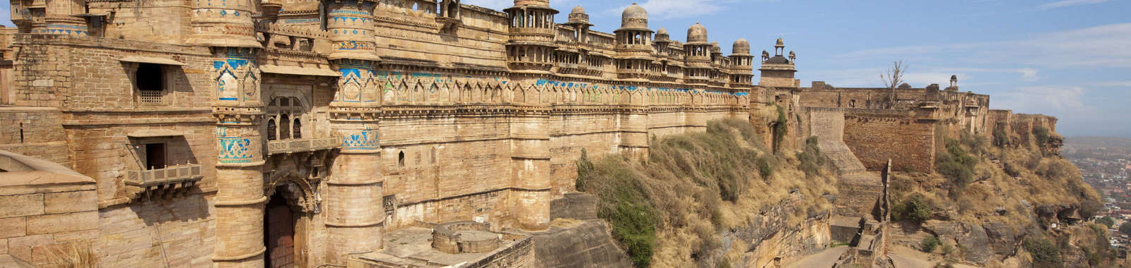 Visit Gwalior Fort on a luxury tailor-made holiday to north India