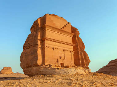 Visit Qasr Al Farid in Al Ula as part of a private Saudi Arabia tour.