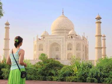 Visit the Taj  Mahal on a luxury tailor-made holiday to India
