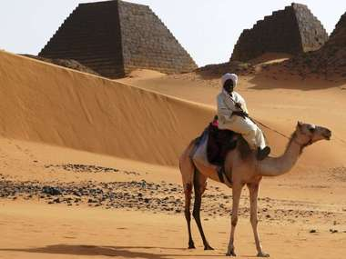 Visit Meroe on a luxury tailor-made holiday to Sudan