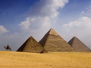 Visit the pyramids on a luxury tailor-made holiday to Egypt