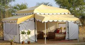 Stay at the Aagman Pushkar Camp, set up exclusively for the Pushkar Camel Fair
