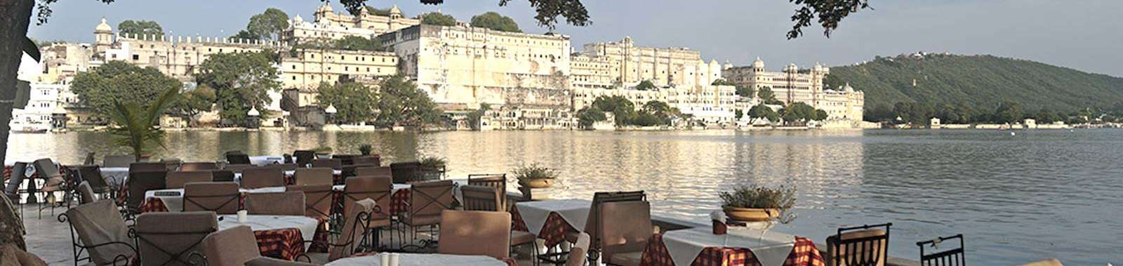 In Udaipur stay at Amet Haveli, a traditional hotel on the banks of Lake Pichola