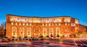 Stay at the luxury Armenia Marriott Hotel Yerevan