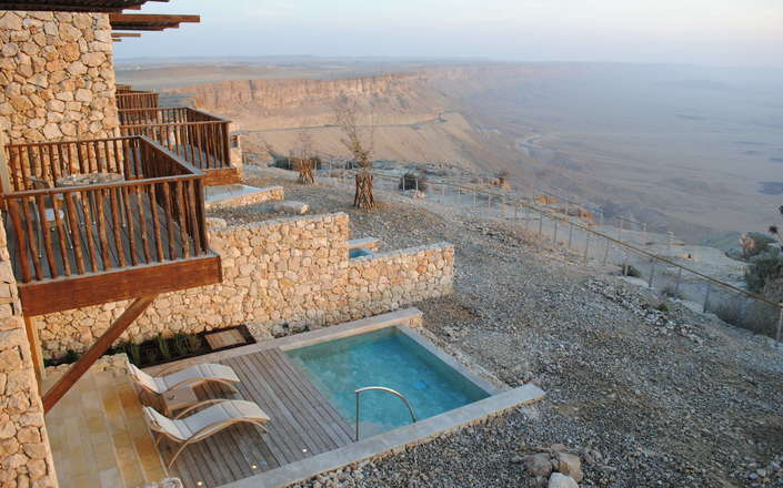 Beresheet Resort Mitzpe Ramon Israel Corinthian Travel