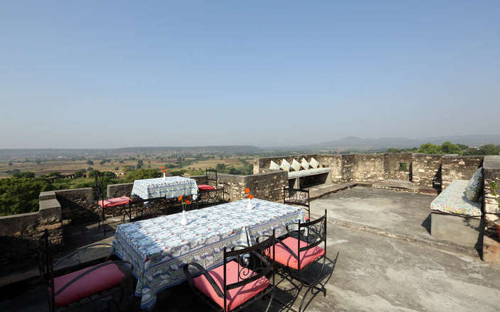 Stay at Bhainsrorgarh Fort, an exquisite heritage hotel in a rural Rajasthani village