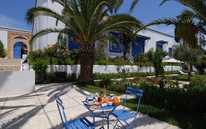 Dar said hotel in sidi bou said tunisia corinthian travel for Sidi bou said restaurant