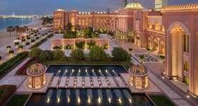 Visit Emirates Palace on your luxury Abu Dhabi holiday