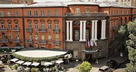 Our recommended hotel in Yerevan is the Grand Hotel