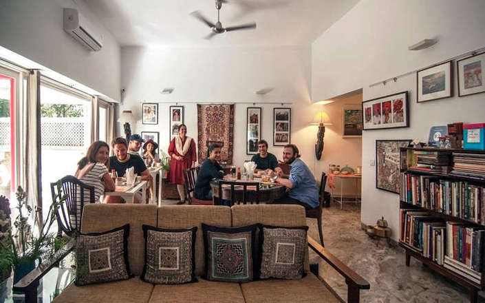 In Delhi stay at Haveli Hauz Khas, a boutique-style B&B in South Delhi